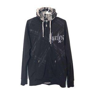 Hurley Jacket with Zip Out Hooded Sweatshirt